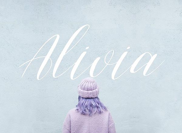Alivia Script Free Fuente
