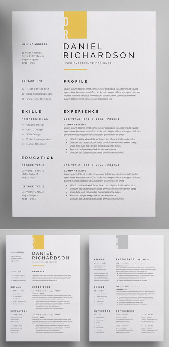php resume template
