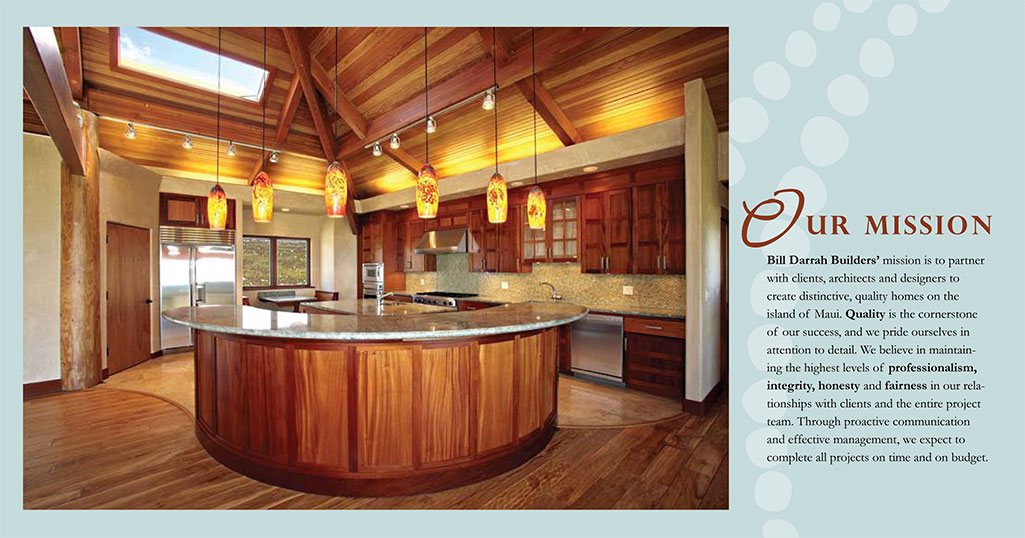 Horizontal Trifold Brochure Bill Darrah Builders