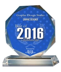 Best of Graphic Designer 2016 Award