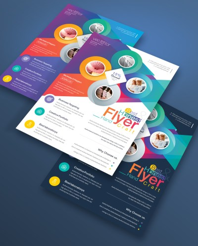 Athena Elegant Corporate Flyer Templates