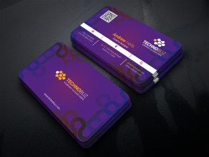 Fashionable Business Card Template