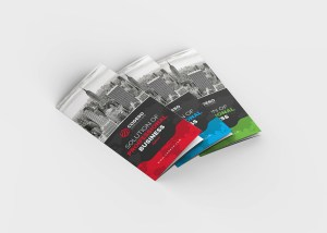 Holly Corporate Tri-Fold Brochure Template