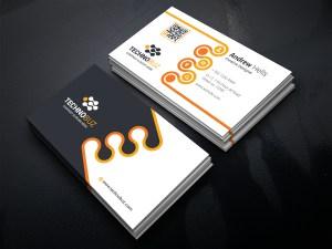 Revolution Business Card Template