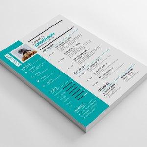 Minimal CV Design Template