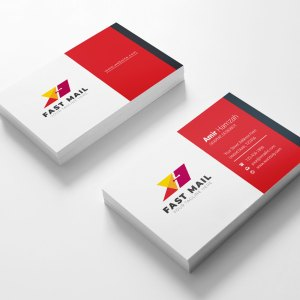 Mail Visit Card Template