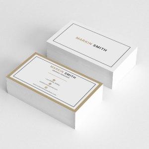 Simplistic Business Card Templates