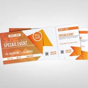 Creative Event Ticket Template