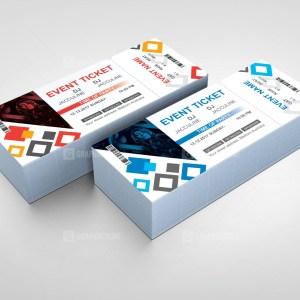Elegant Event Ticket Design