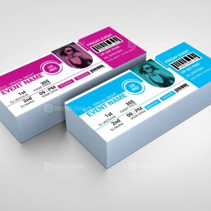 Party Event Ticket Design