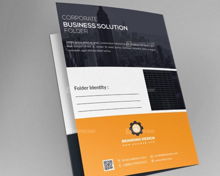 EPS Folder Template