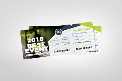 Gala Event Ticket Template