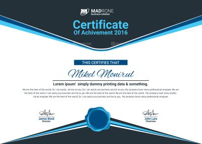 Graduate Certificate Design