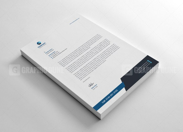 Clean Letterhead Templates
