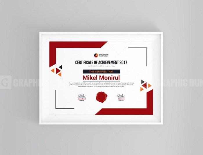 Stylish Certificate