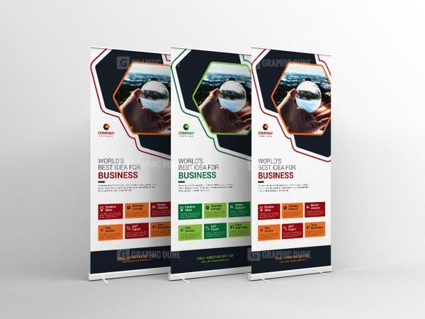 Creative Standee Banner Template