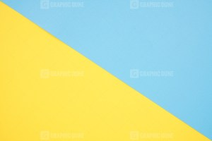 Yellow and blue geometric background