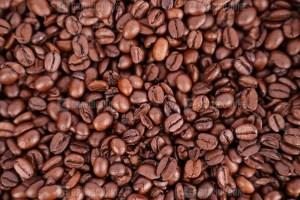 Coffee beans macro image