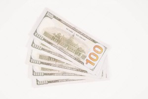 Five Hundred Dollars Stock Photo