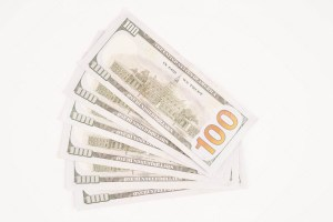 Six Hundred Dollars Stock Photo