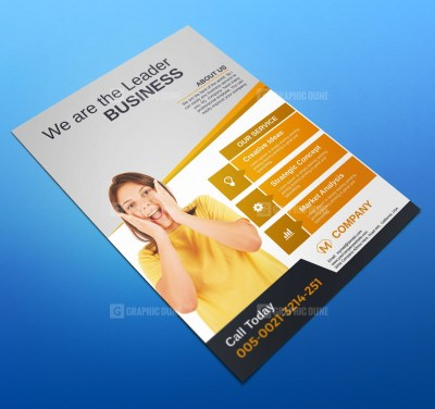 Creative Corporate Flyers Design