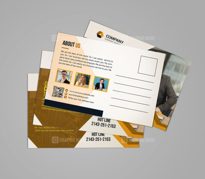 Professional Business Postcard Design