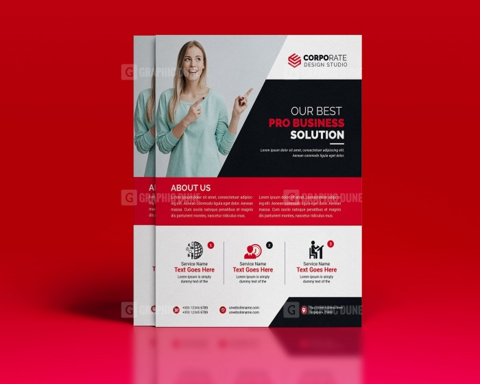Professional PSD Flyer Template