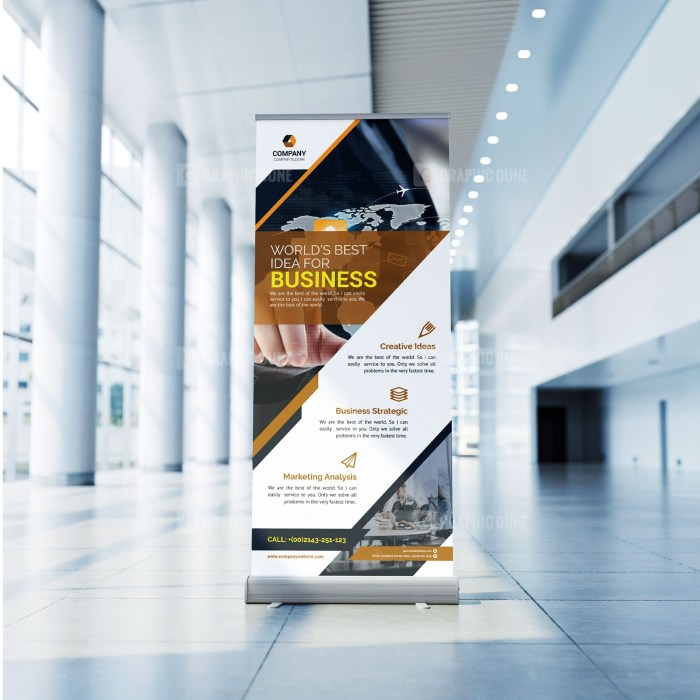 Business Roll-Up Banner Design
