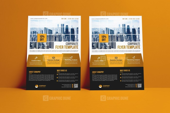 Strategy Flyer Template