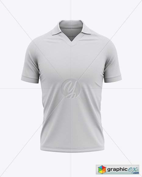 Download Men's Soccer Jersey Mockup - Front View 49609 » Free ...