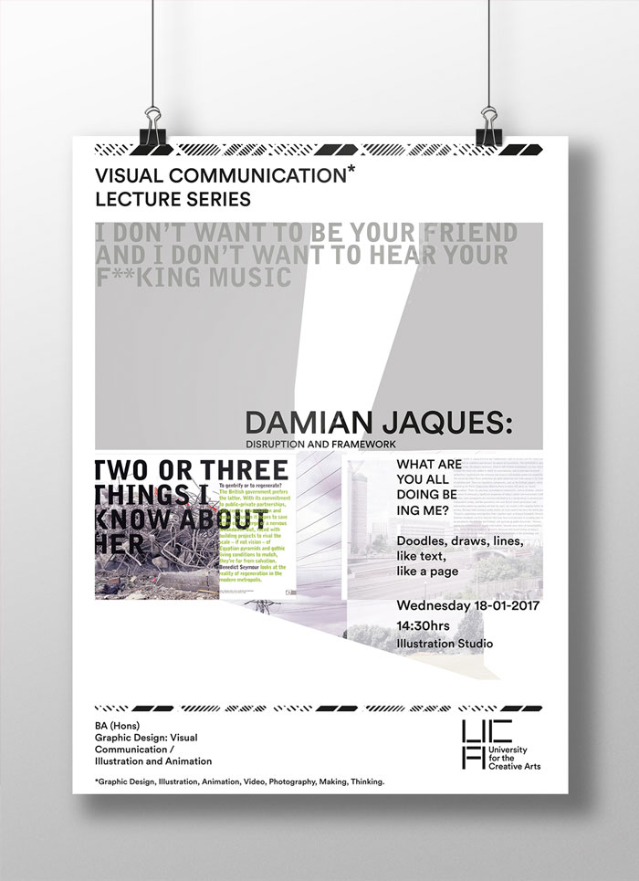 30 Creative Advertising  Communication Poster Designs By