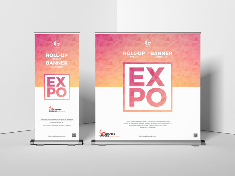 A fun and easy birthday banner doesn't take any fancy craft tools—just what you already have in your supplies! Free Expo Roll Up Stand Banner Mockup Graphic Google Tasty Graphic Designs Collectiongraphic Google Tasty Graphic Designs Collection