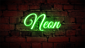 neon coreldraw sign effect background text draw corel tutorial lights effects admin signs comment posted