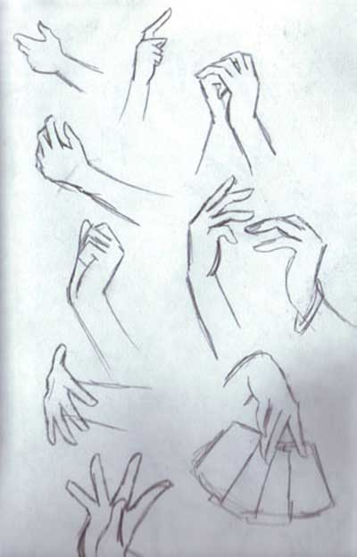 How To Draw Anime Girl Hands : anime, hands, Tutorials, About, Anime