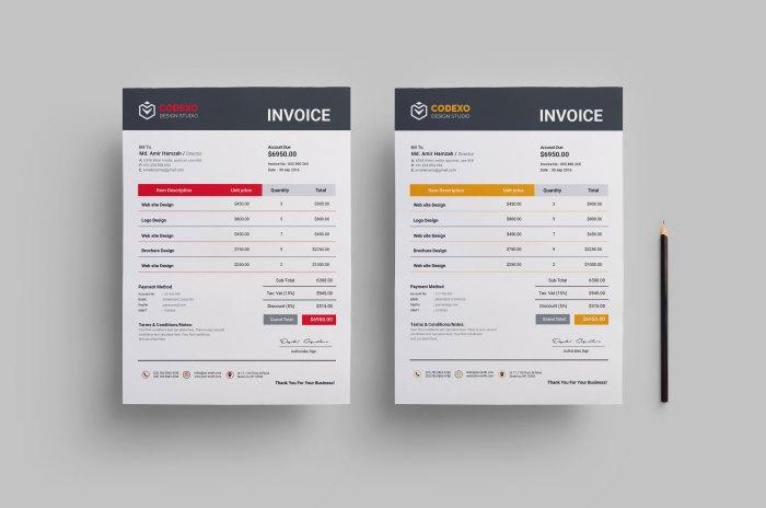 Premium Business Invoice Design