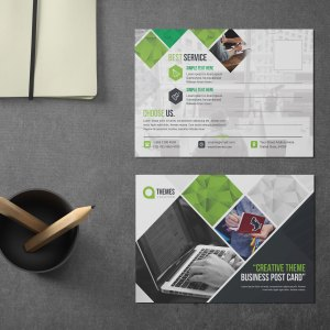 Best PSD Postcard Design
