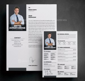 Professional Resume CV Design Template