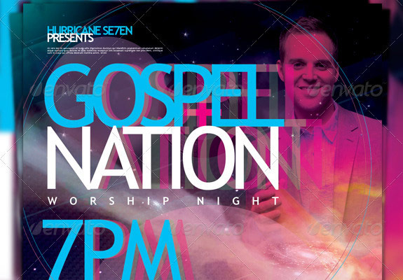 Dub Nation Gospel Nation Flyer Template