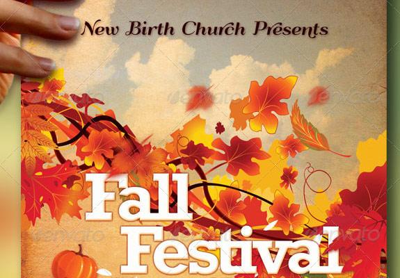 Church Fall Festival Flyer Templates Dolapgnetband