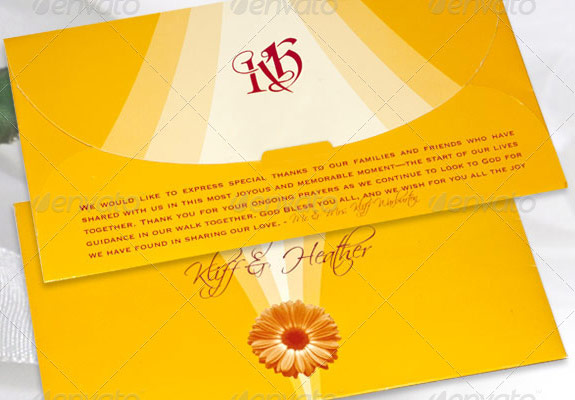 Wedding Program Template Bundle