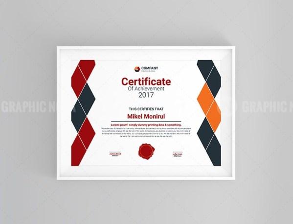 Diamond Certificate Template