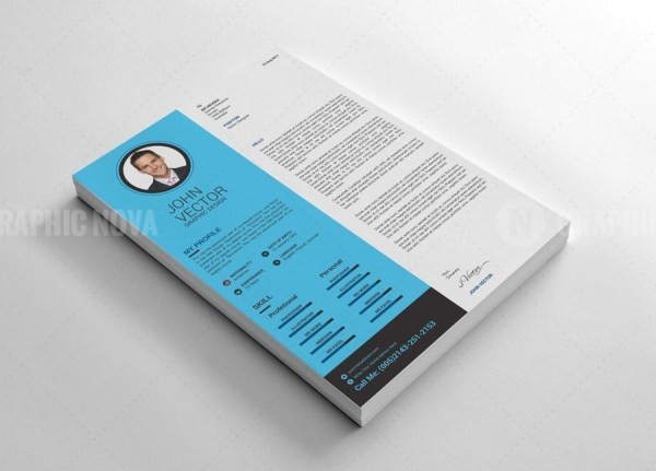 Scientific Resume CV Design