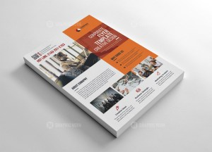 Marketing Flyer Template Design