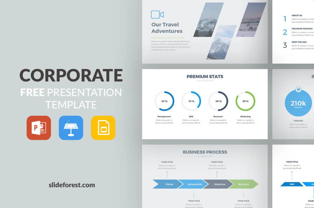 43edbcf00 The 86 Best Free Powerpoint Templates to Download in 2019 (Updated)
