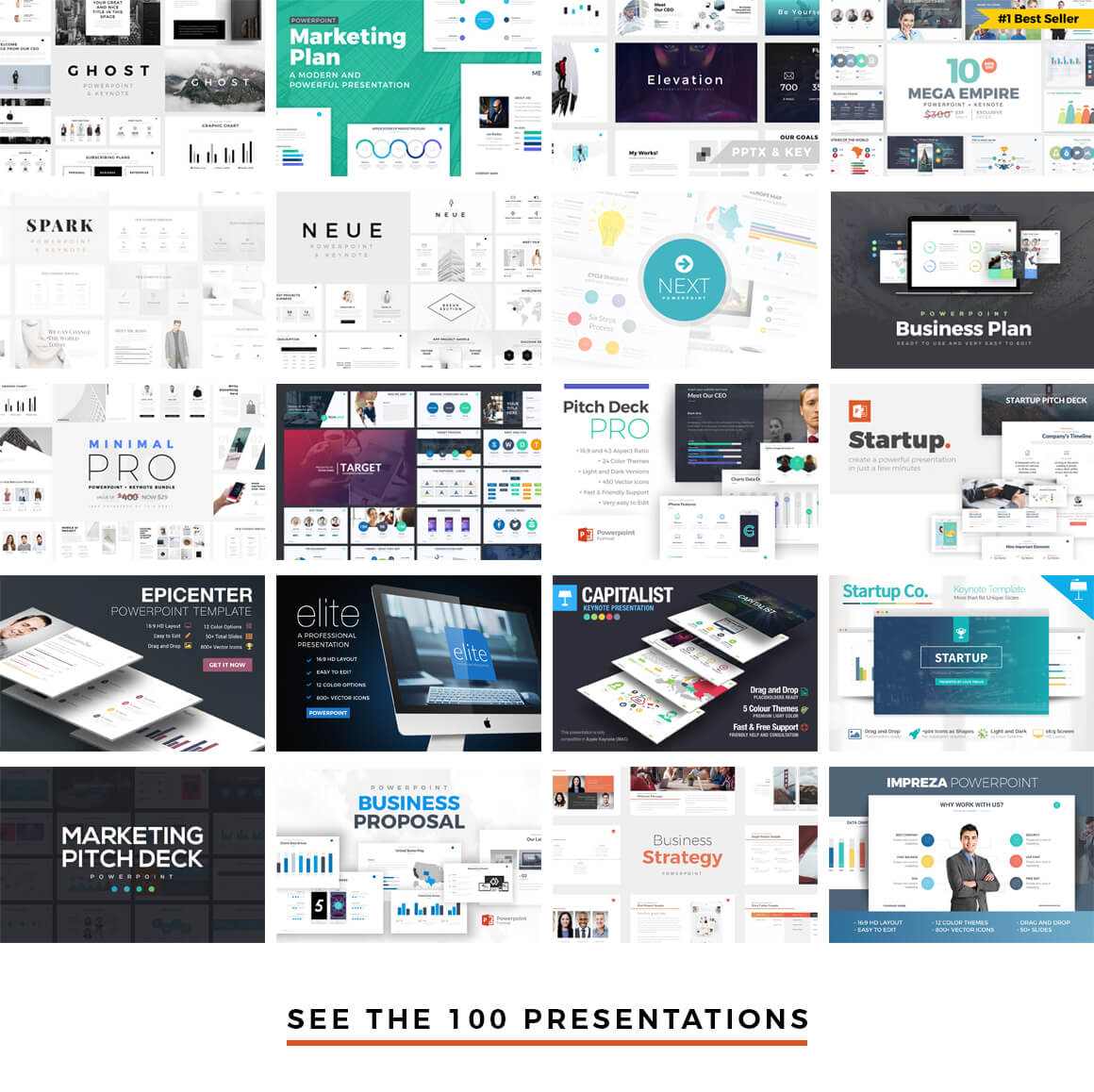 Best PowerPoint Templates, Best Keynote Themes, Best Google Slides Themes