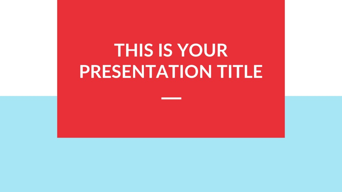 playful free presentation template powerpoint  keynote  google slides