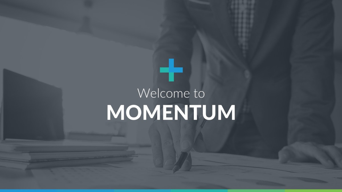 Momentum professional business powerpoint template toneelgroepblik Images