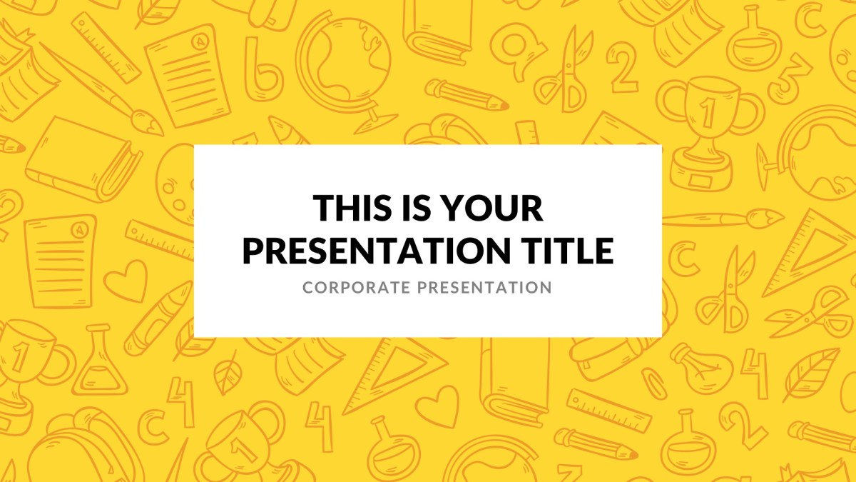50 Free Google Slides Themes for Teachers (PowerPoint + Keynote)