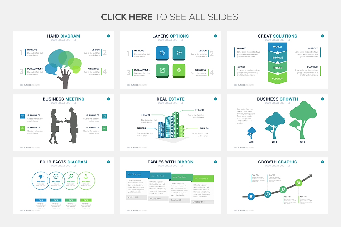 68 business infographic templates powerpoint keynote google slides