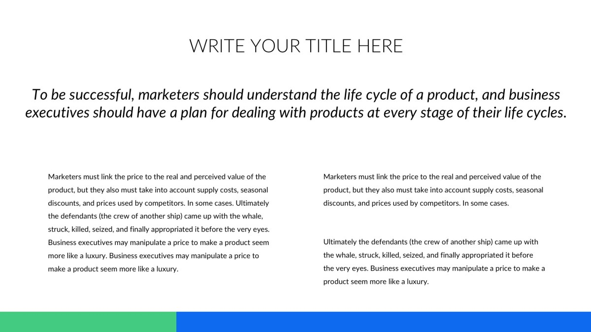 business pro free google slides powerpoint and keynote template